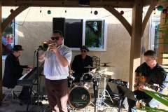 With Third Coast Jazz at a Private Event in Scripps Ranch