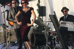Whitney Shay and Third Coast Jazz at a Del Mar Wedding Reception