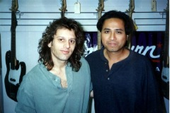 With Dave Weckl at a Master Class.