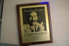 My Jim Croce Music Award