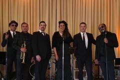 With Shaina Pugh and Third Coast Jazz at a La Jolla Wedding Reception