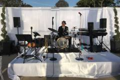 Soundcheck with Third Coast Jazz at the L'Auberge in Del Mar