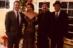 With Whitney Shay, Jon Walters and David Owen